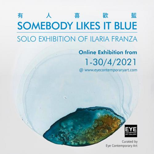 Somebody likes it Blue Online Exhibition