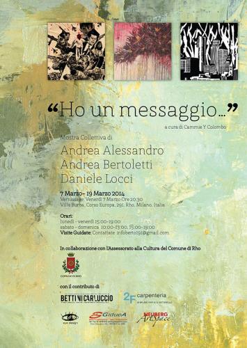Andrea Alessandro, Andrea Bertoletti and Daniele Locci